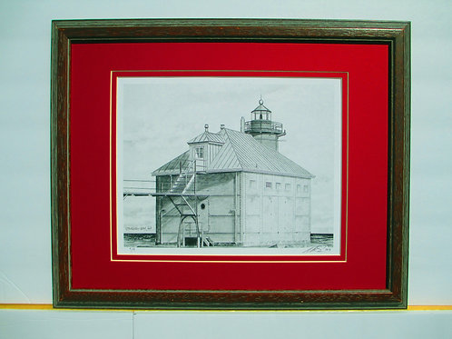 Sturgeon Bay Light Print