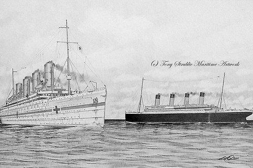 Britannic/Titanic Fictional