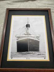 "RMS Titanic Print ""Dead Ahead"""