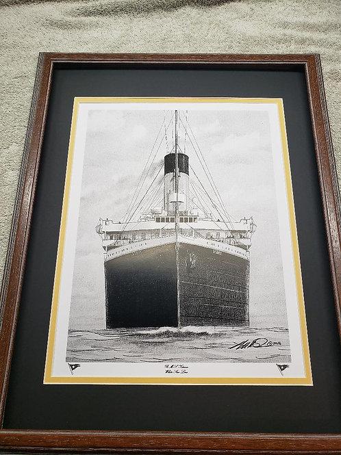 "RMS Titanic ""Dead Ahead"""