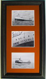 Edmud Fitzgerald Collage Set