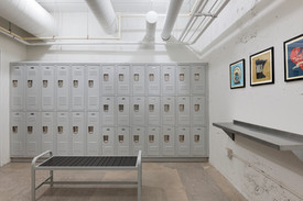 Shared Tenant Bike Room Lockers