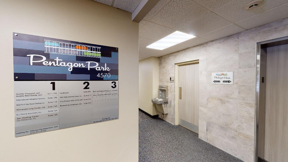 Tenant Directory, Updated Carpet, Elevator Banks