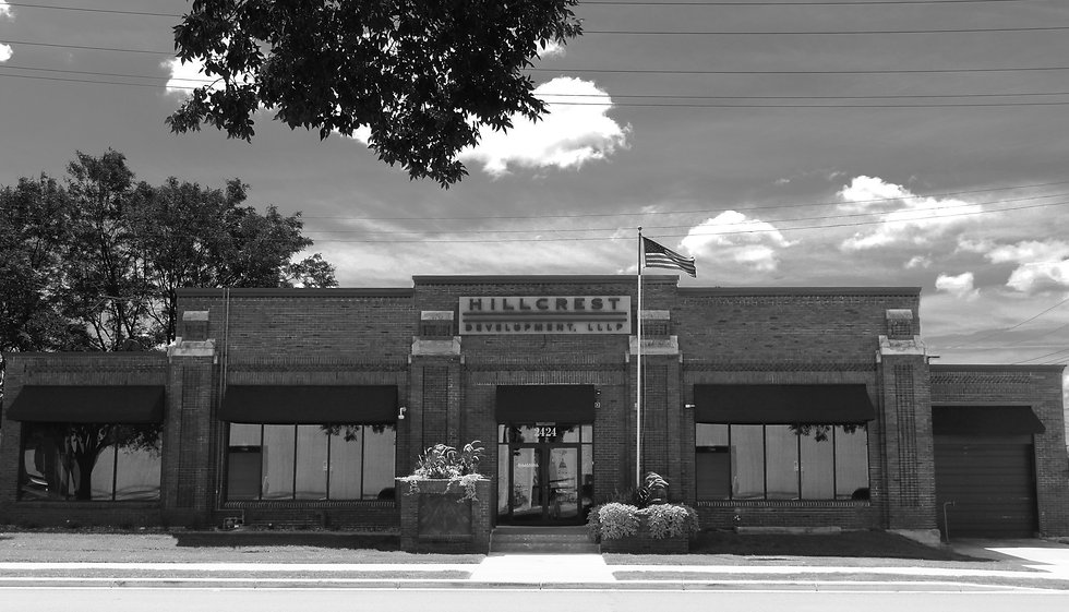 Hillcrest Building Photoshopped BLACK AN