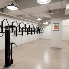 Bike Storage and Pump