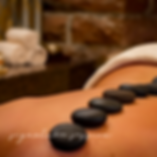 deep relaxation hot stone massage