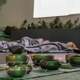 singing bowl sound meditations