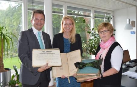 Kneipp-Bund übergibt Kneipp-Museum Original-Dokumente des Wasserdoktors
