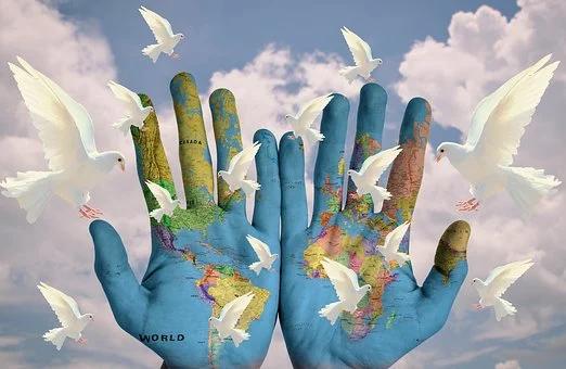 Friede, der durch Dich die Welt beflügelt?