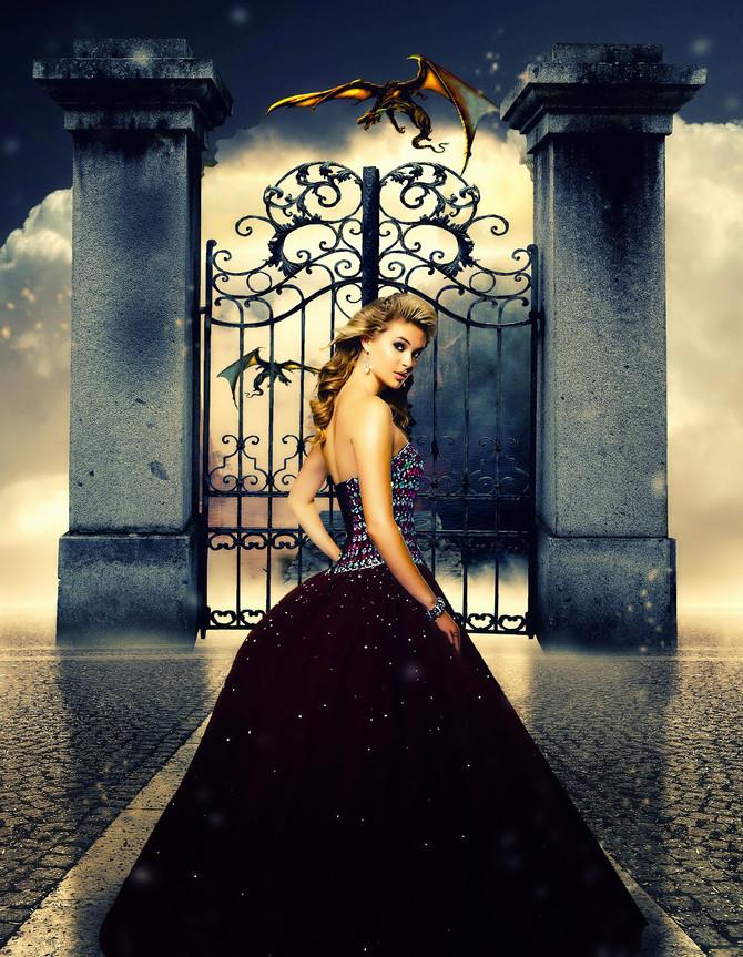 Du als Königin kannst durch Mut, Macht und Stärke Deine Drachen besiegen?