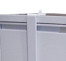 4 Drawer Filing Cabinet with Security Ba