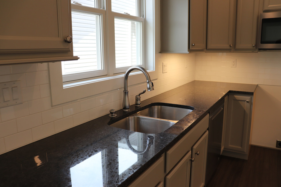 Kitchen with optional subway tile