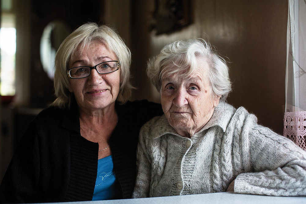 Caring for a loved on with dementia