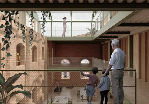 Proposal for the restoration of Can Ricart in Poblenou, Barcelona. 2020