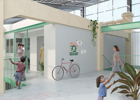 Reactivation of the Tabacalera space. Project in Tarragona. 2020
