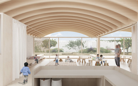 Competition for a Kindergarten in Mallorca, Spain. 2021