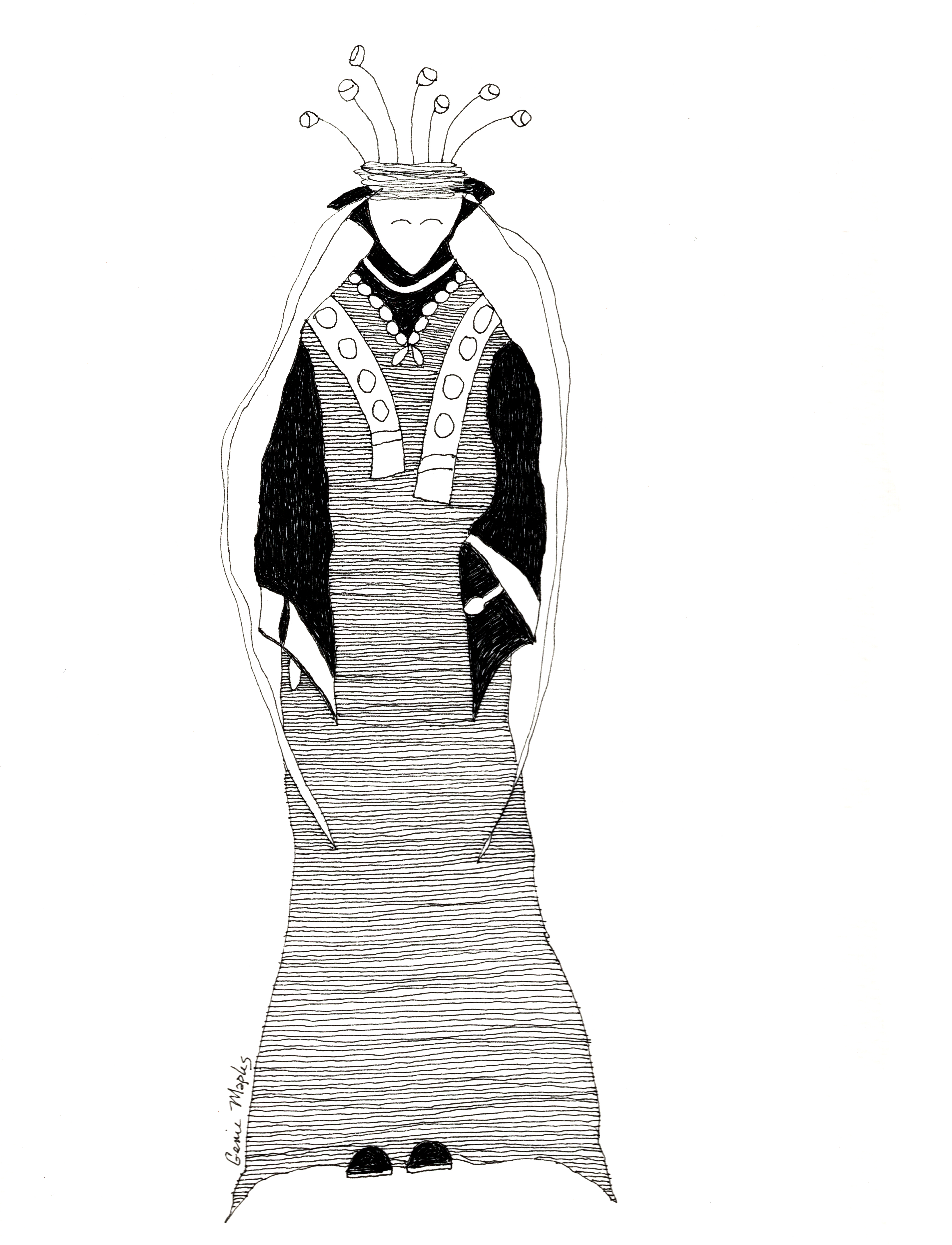 Piety's New Dress