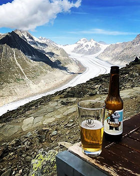 Great reward after climb the Bettmerhorn