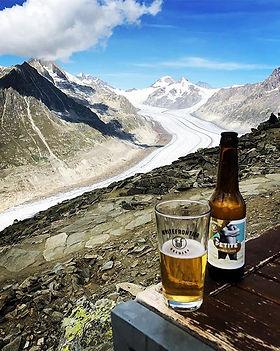 Great reward after climb the Bettmerhorn