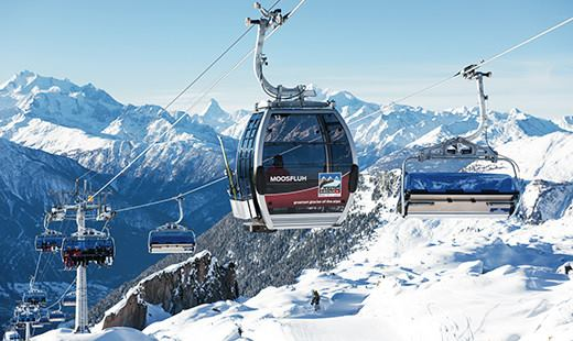 Moosfluh Cable Cars