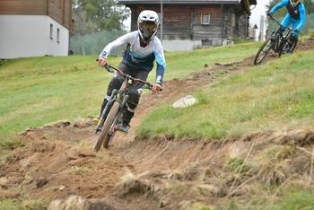 Downhill Mountain bike track