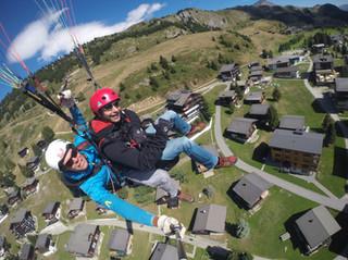Paragliding, Summer