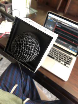 Brody's Pajama Podcast setup