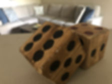Dice were the perfect conversation starters as I entertained new friends in my Vegas apartment