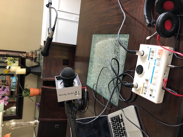 Podcast office