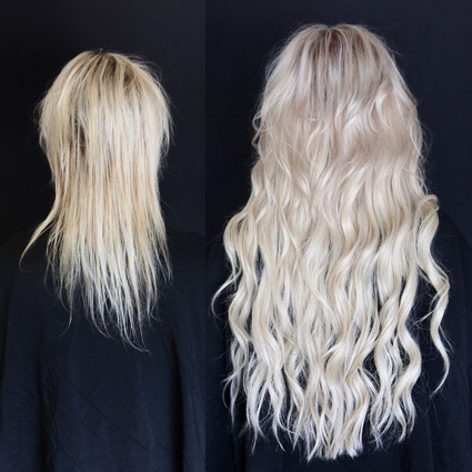 Meagan Reitz Hair Extensions