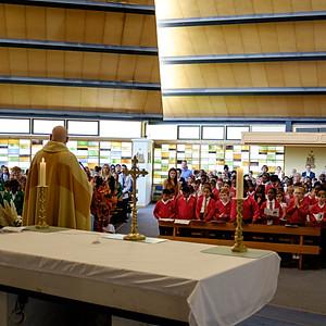 Romero Thanks Giving Mass St Patrick's Coventry