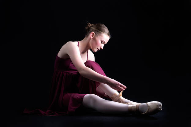 Ballerina portrait by Anthony Quinn Photography