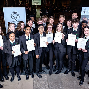 D of E Awards Coventry Cathedral