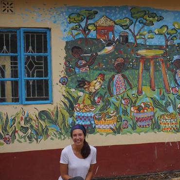 Mural in Kenya
