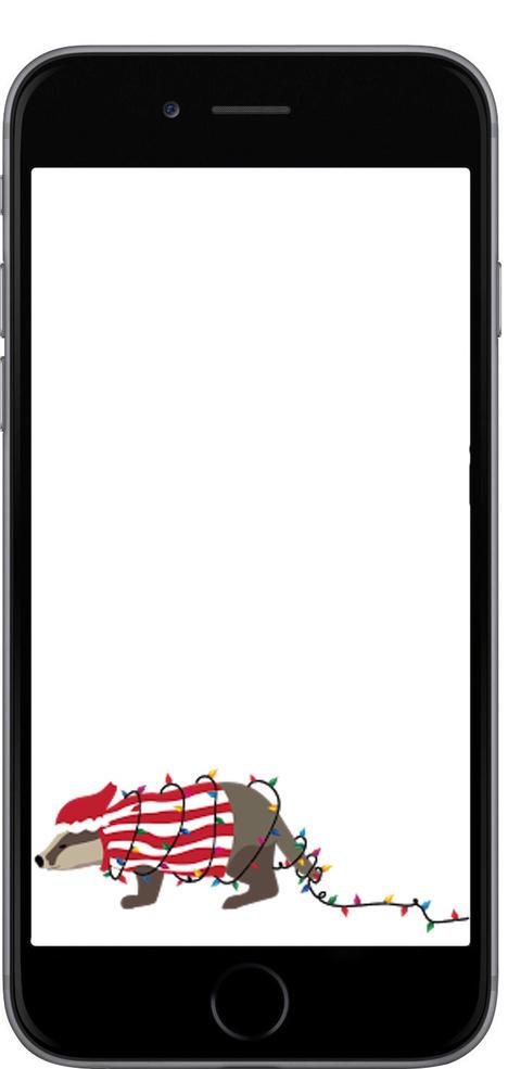 Snapchat filter: Christmas Bucky