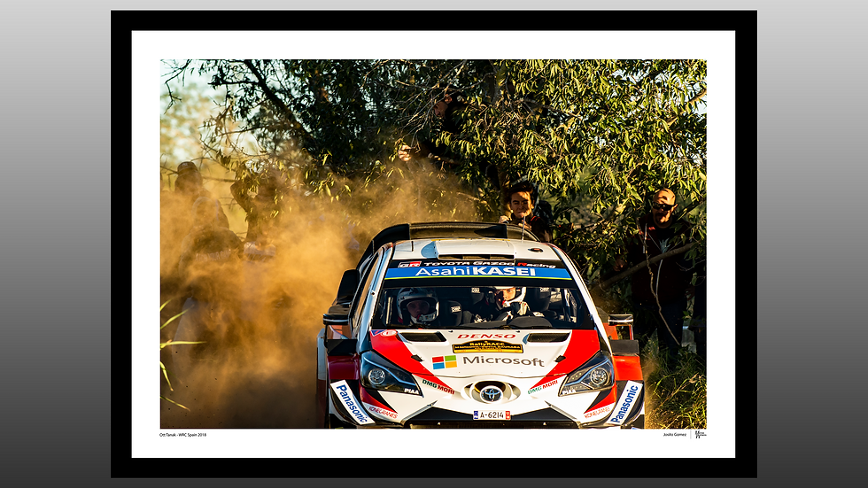 Ott Tanak - WRC Spain 2018