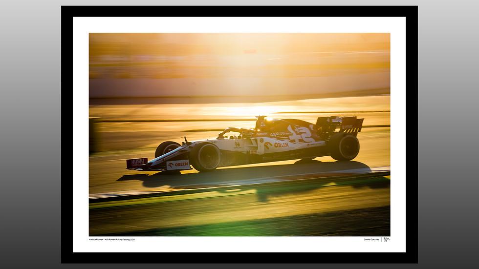 Kimi Raikkonen Sunset