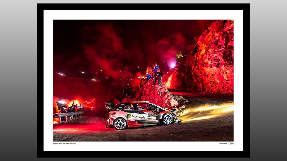 Sebastien Ogier - WRC Monte Carlo 2020
