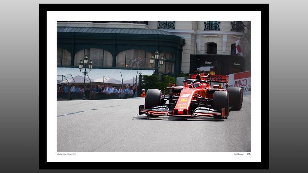 Sebastian Vettel - Monaco 2019
