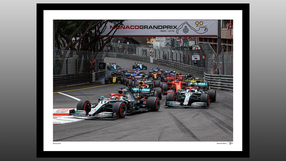 Monaco 2019 Start