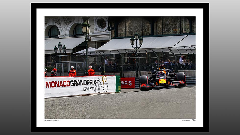 Max Verstappen - Monaco 2019