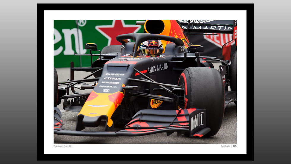 Max Vertappen - Monaco 2019
