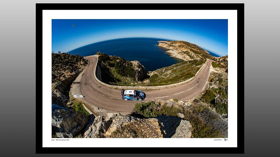 Elfyn Evans - WRC Tour de Corse 2019