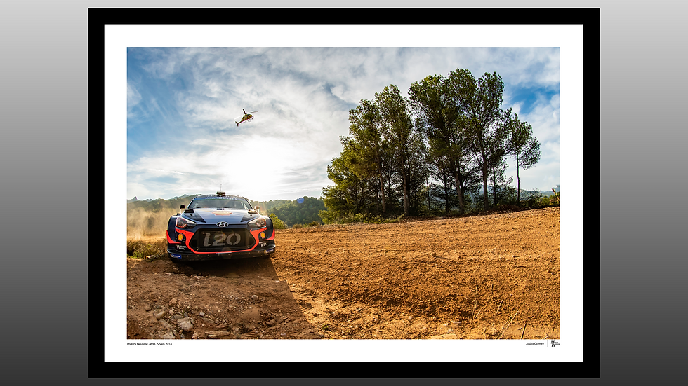 Thierry Neuville - WRC Spain 2018