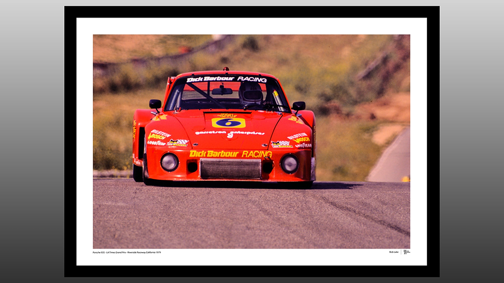 Porsche 935 Red - LA Times GP 1979