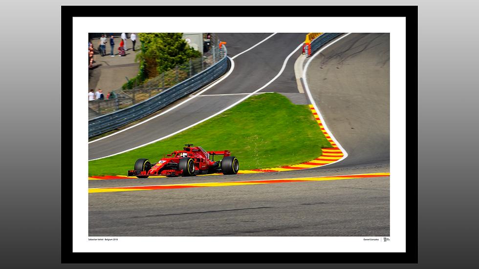 Sebastian Vettel Sparks