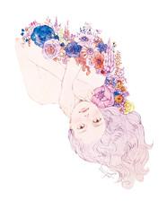 VERY8月号クリスウェブ佳子さんコラム 考えない男 挿絵
