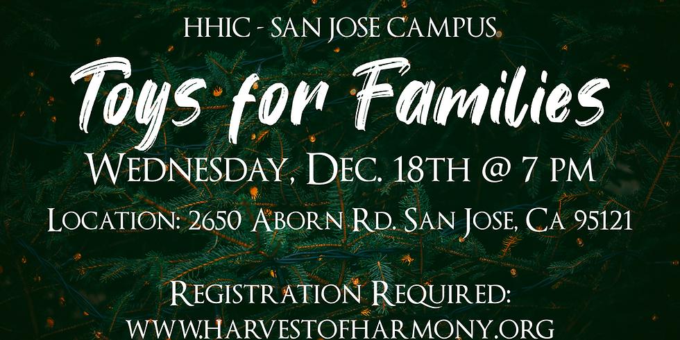 Toys for Families - San Jose