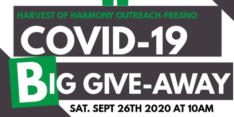 Harvest of Harmony -Fresno COVID-19 BIG GIVEAWAY