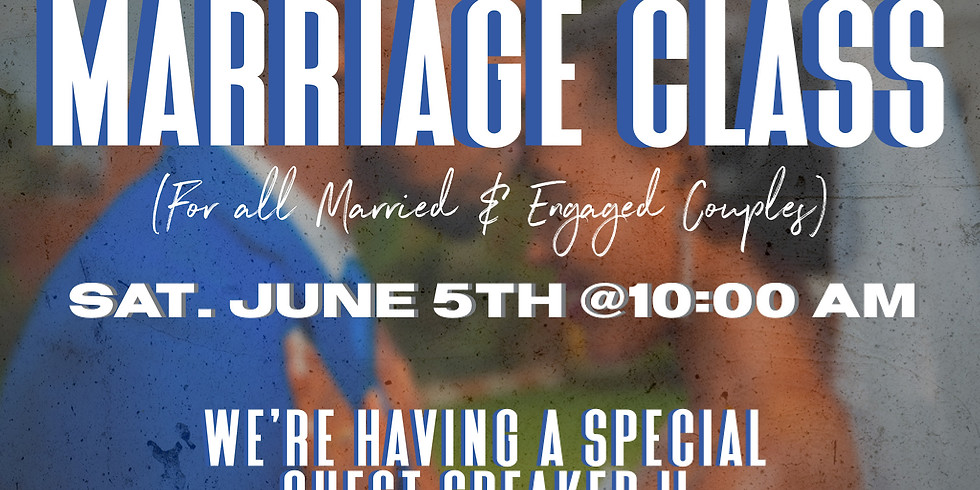 Marriage Class